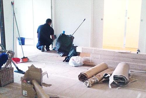 servicio de limpieza fin de obra madrid