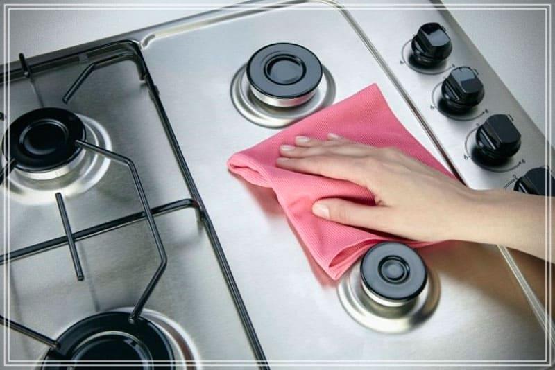 cómo limpiar una cocina de gas