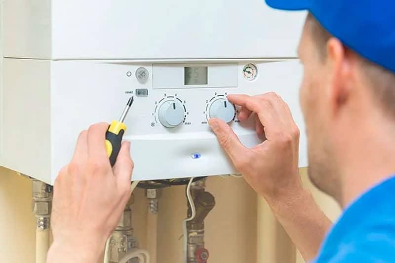 limpiar un calentador de agua a gas